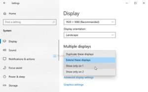 How to move a full screen game window to another monitor