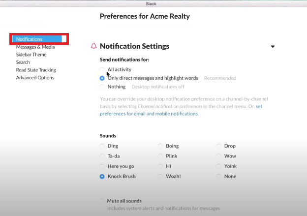 How to configure and customize Slack Notifications