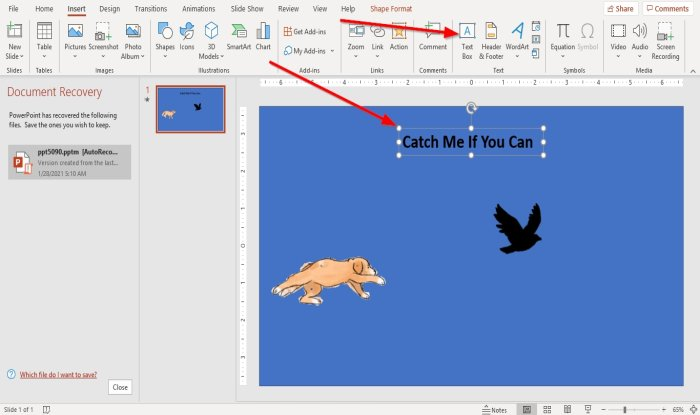 How to add Animated GIF to Microsoft PowerPoint