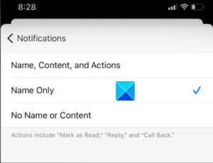 Signal Mobile Notifications