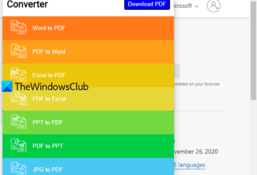 free pdf converter add-ons for edge, chrome, and firefox