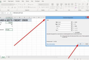 How to use PMT Function in Excel