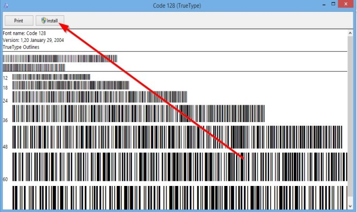 How to create a Barcode in Microsoft Word