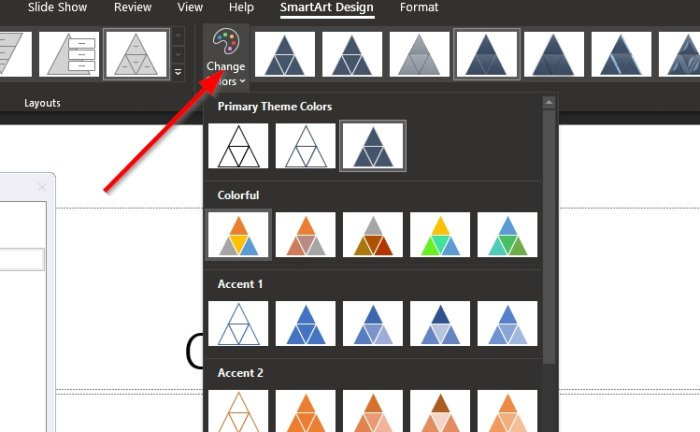 Create a Pyramid in PowerPoint