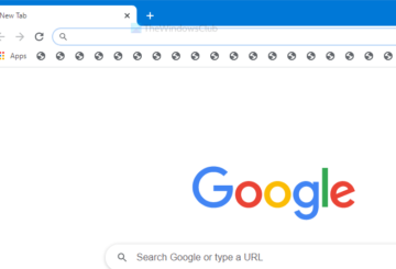 Fix Chrome showing wrong or no bookmark or globe icon