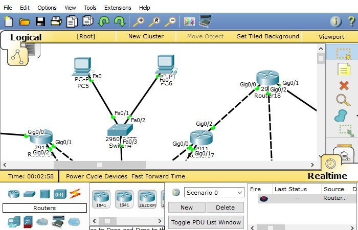 Cisco Packet Tracer Networking Simulation Tool