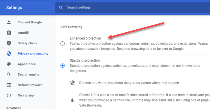 How to Turn on Enhanced Safe Browsing in Google Chrome