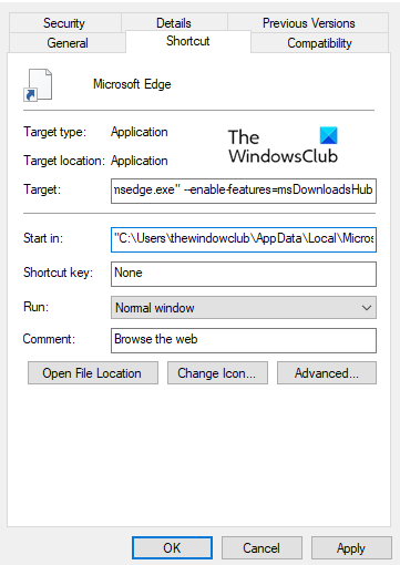 Enable New Download Flyout in Microsoft Edge