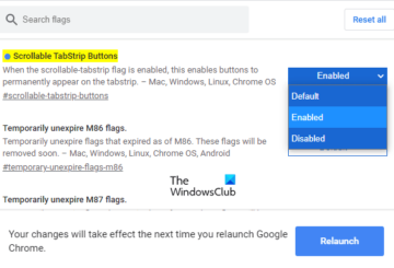 Enable or Disable Tab Scrolling Buttons In Google ChromeEnable or Disable Tab Scrolling Buttons In Google Chrome