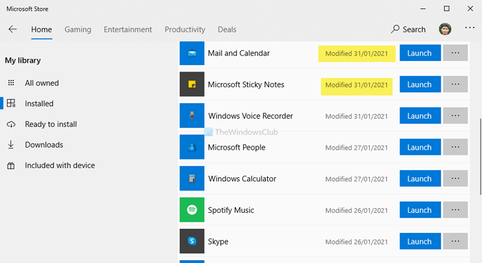Find app installation date on Windows 10