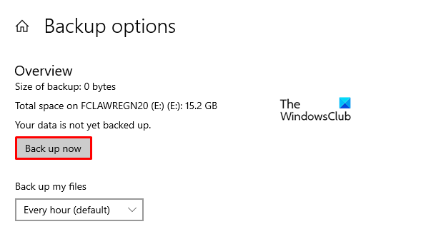 How to Create automatic file backup on Windows 10
