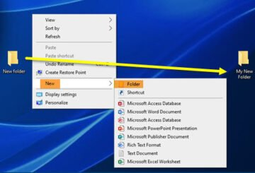 How to change default New folder name in Windows 10