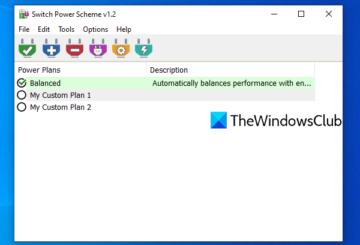 view active power plan in windows 10