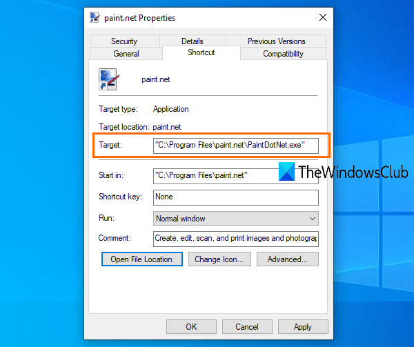 Find where a program is installed in Windows 10