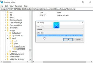 Image Preview Missing from Context Menu