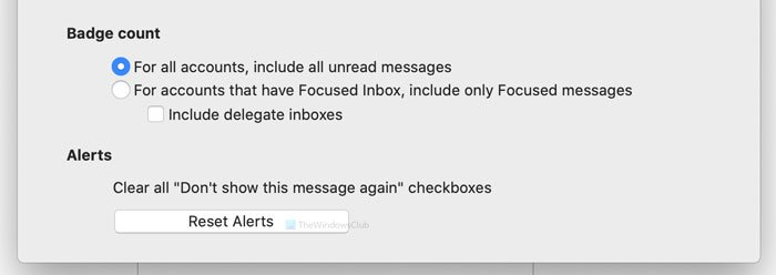 Outlook notifications not working on Mac