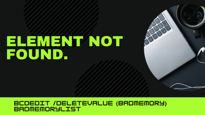 An error occurred while attempting to delete the specified data element Element not found
