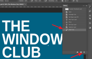 How to Undo and Redo changes in Photoshop