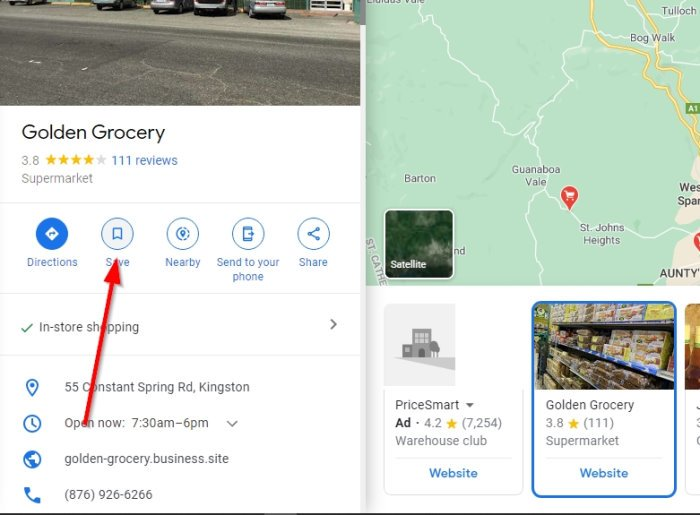 save your Favorite Places on Google Maps