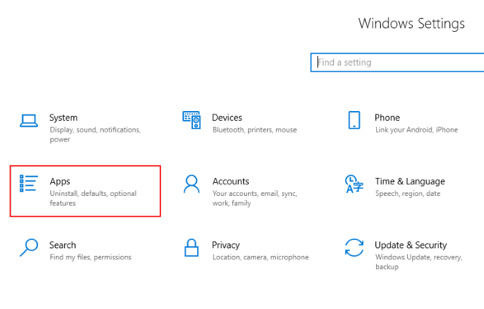 How to Kill or Terminate Microsoft Apps in Windows 10 Step 2