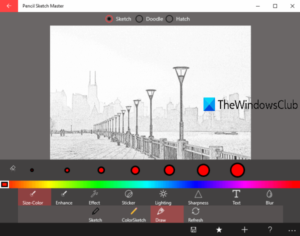 free photo to sketch apps for Windows 10