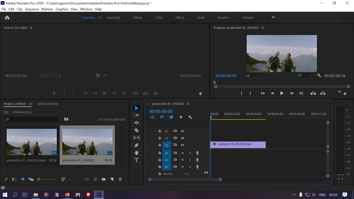 How to stabilize Shaky Video Footage in Adobe Premiere Pro