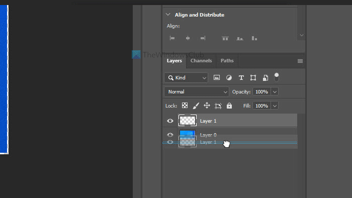 How to add border around image in Photoshop