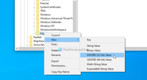 How to turn on Preload new tab page on Edge using Registry