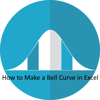 how to make bell curve in Excel