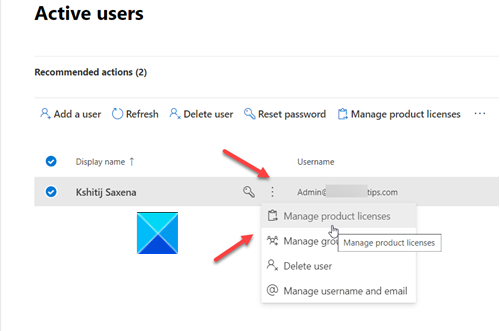 Manage Product Licenses