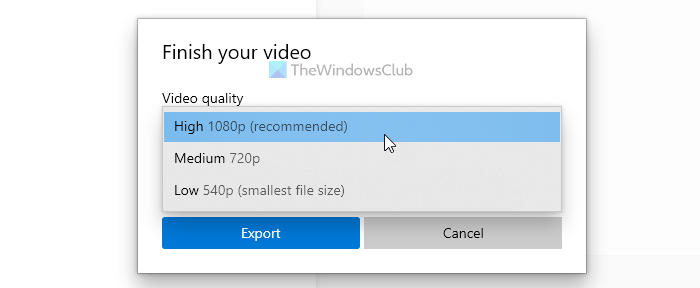 How to merge videos in Windows 10 using Photos app