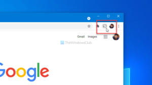 How to show or hide Google Cast toolbar icon in Chrome