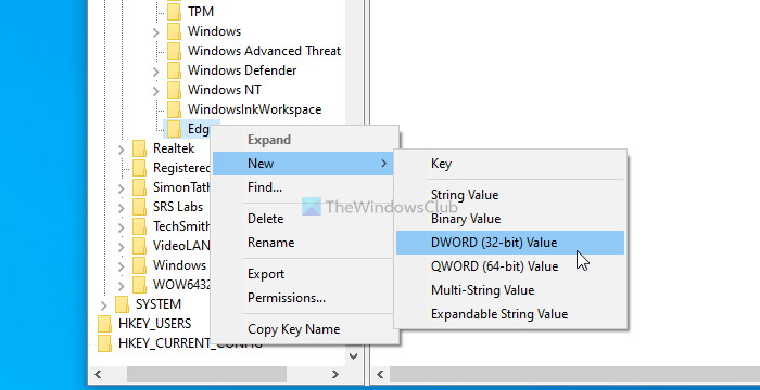 How to turn on or off Startup boost in Edge using Registry and Group Policy
