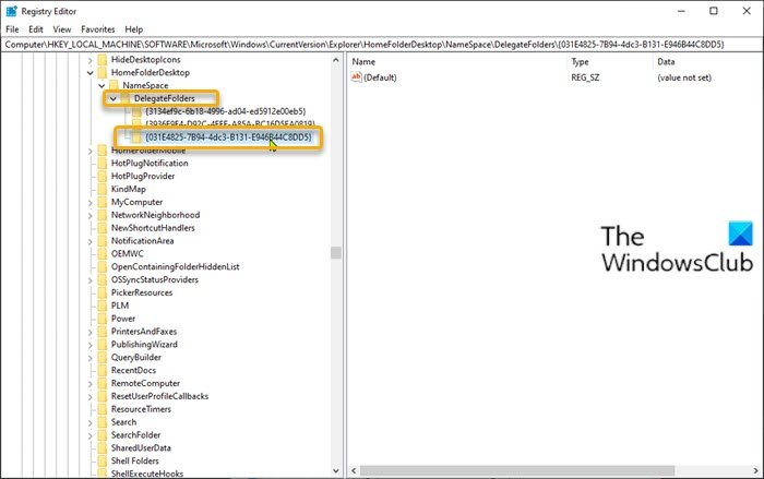 Add Libraries to Quick Access-Registry Editor