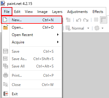 Create Button in Paint.net 1