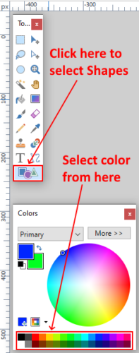 Create Button in Paint.net 5