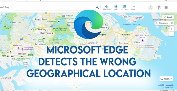 Wrong Geolocation on Edge