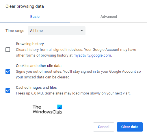 Google Chrome is unresponsive, relaunch it