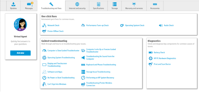 HP Support Assistant Update Drivers 6