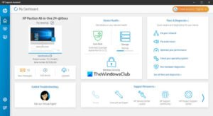HP Support Assistant for Windows10