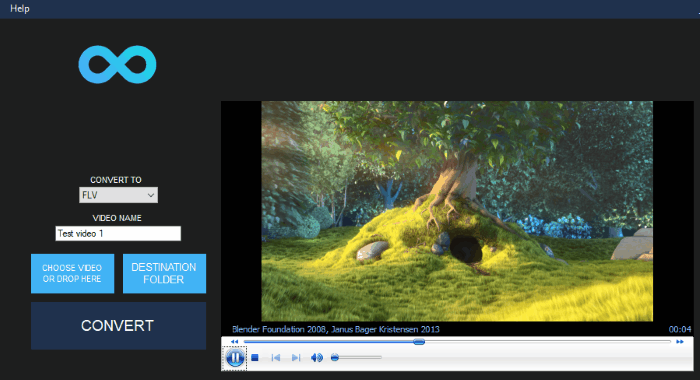 InfinityConverter is a fast Image and Video Converter app