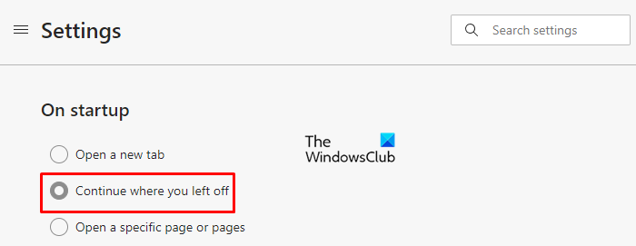 Restart Microsoft Edge and Opera browser, without losing tabs in Windows 10