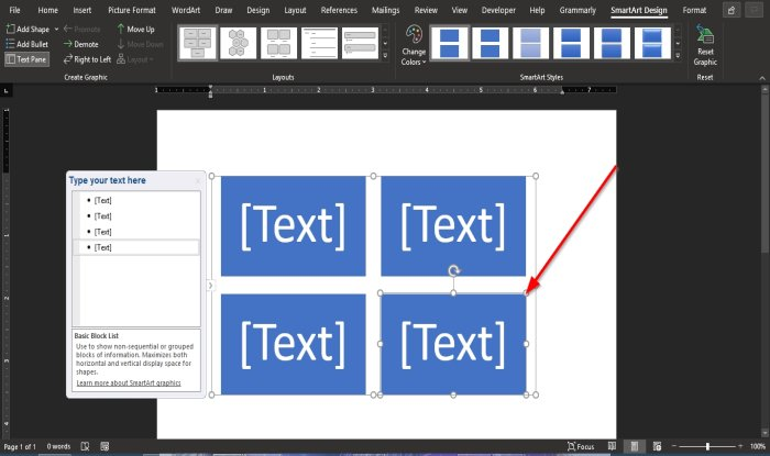 wrap Text around a Picture in a text box in Word