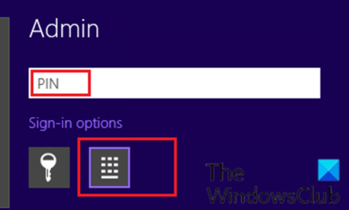 Windows 10 prompts for PIN instead of password