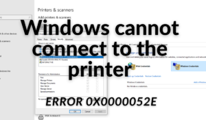 Windows cannot connect to the printer (1)
