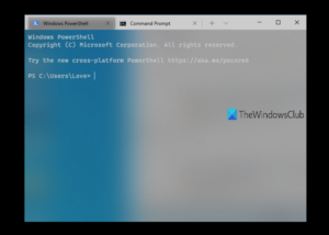acrylic transparency in Windows Terminal