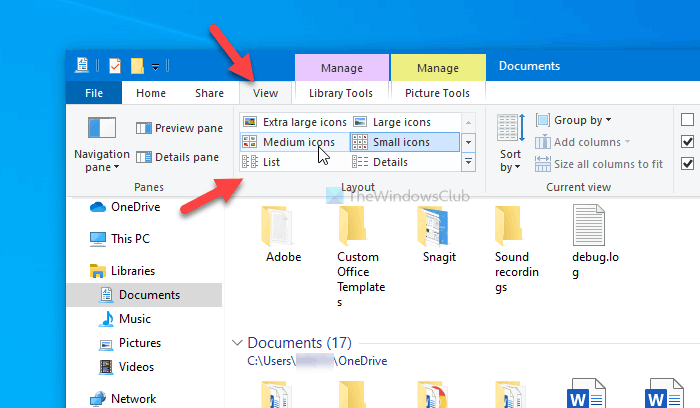 Best ways to change Library folder template on Windows 10