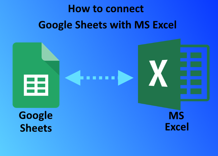 connect google sheets with excel