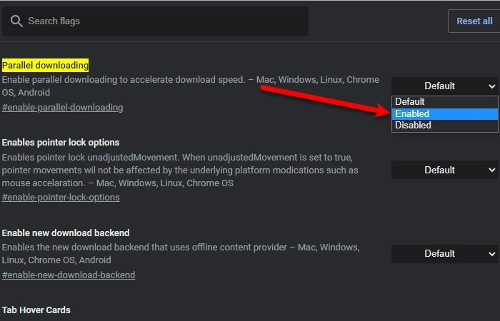 Increase Download Speed in Chrome