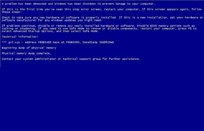 Free Apps to Create Fake Blue Screen of Death to prank your friends